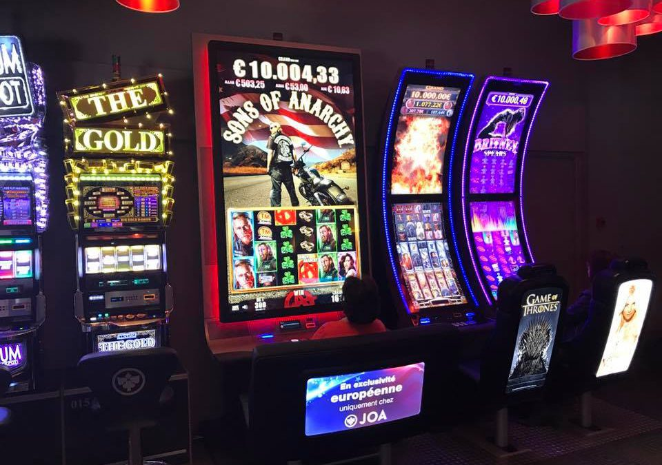 La plus grosse machine à sous au casino Joa Gerardmer