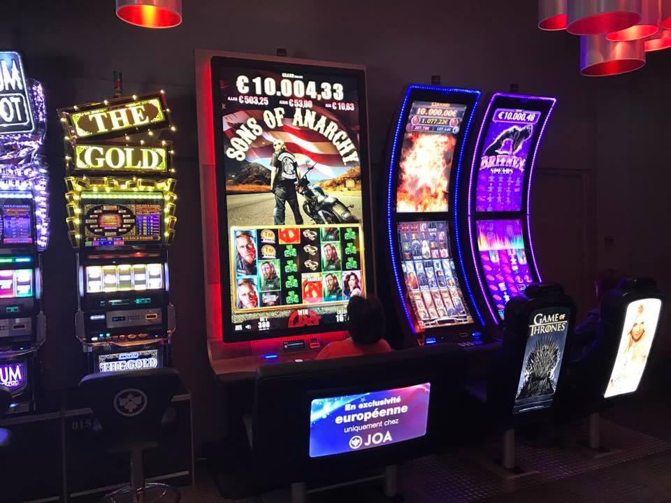 machine à sous du casino joa de gerardmer dans les vosges